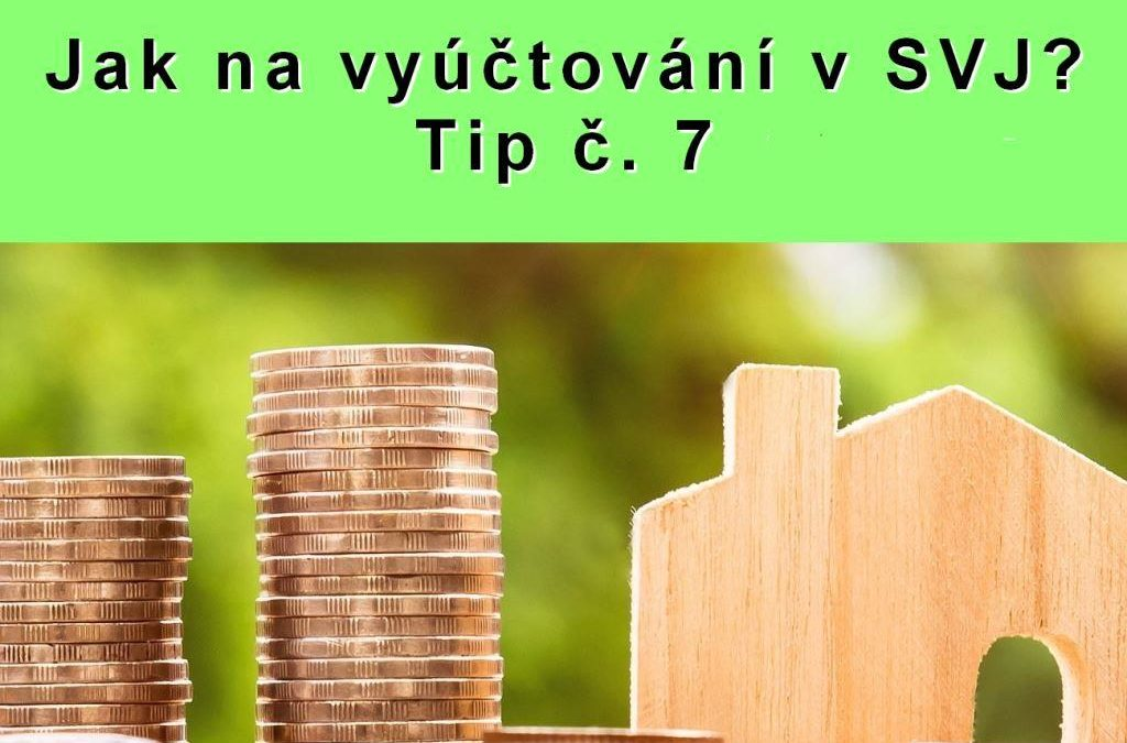 Jak na vyúčtování v SVJ? Tip č. 7 – Jakým klíčem náklady v SVJ vyúčtovat?